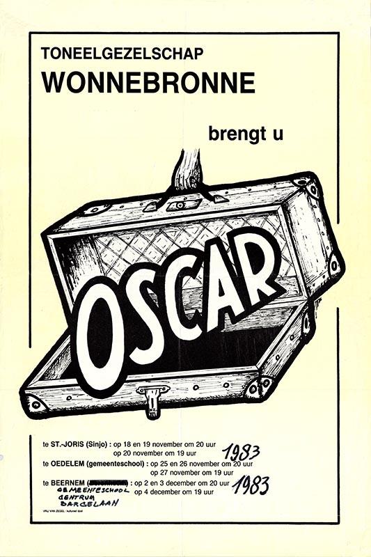 05_Affiche_Oscar_productie Wonnebronne_najaar 1983