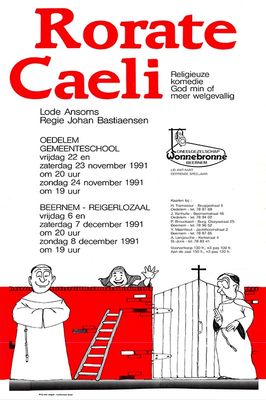 19_Affiche_Rorate Caeli_productie Wonnebronne_najaar 1991