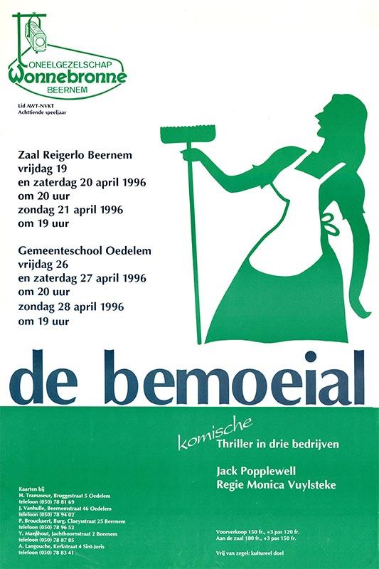 28_Affiche_De Bemoeial_productie Wonnebronne_voorjaar 1996