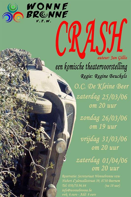 46_Affiche_Crash_productie Wonnebronne_voorjaar 2006