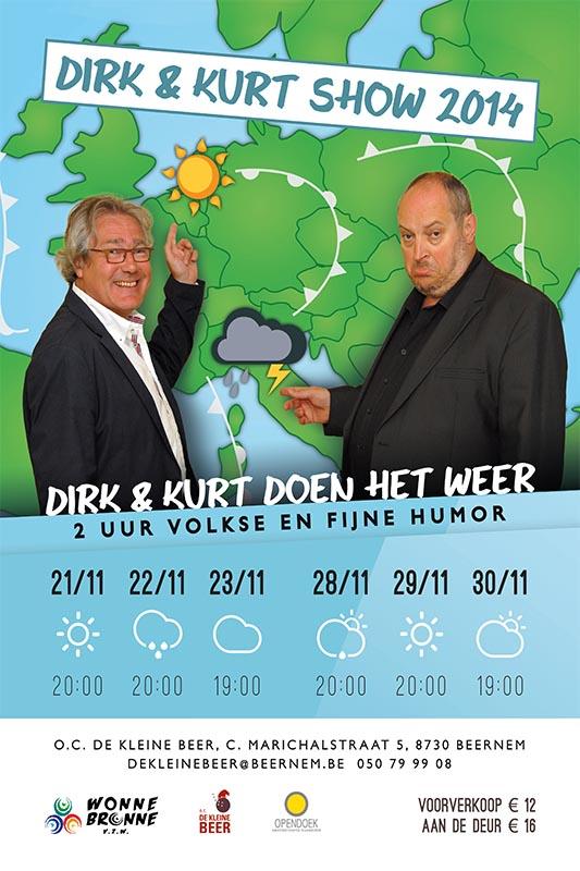 60_Affiche_Dirk en Kurt doen het weer_productie Wonnebronne_najaar 2014