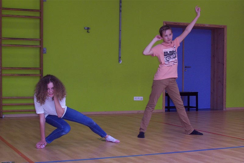 Theateropleiding - oefening